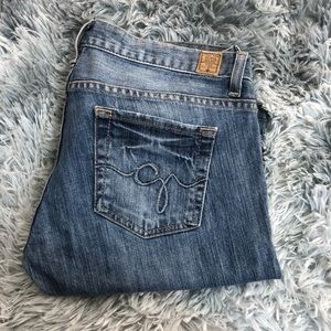 Guess Jeans Stretch Foxy Flare Leg Jeans